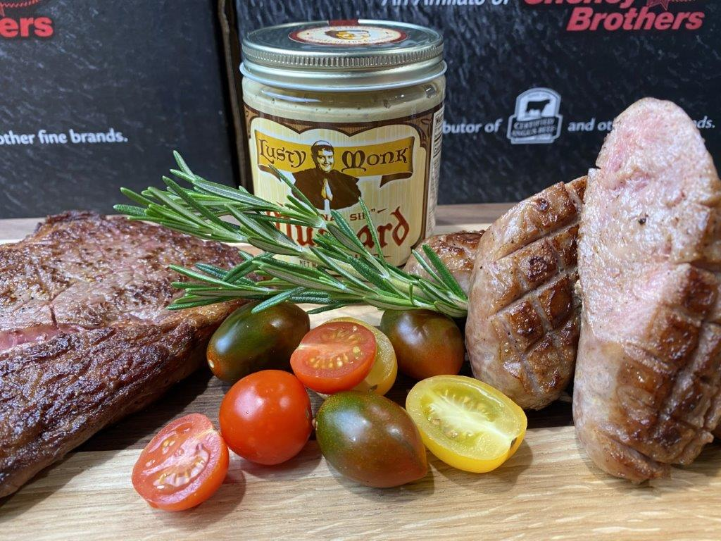 Lusty Ribeye Lovers Brat Gift Box from Southern Foods